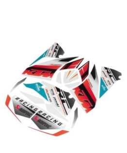 KTM rc 125/390 factory race decal set new